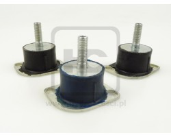 Engine Rubber Mounting Set - Mini Diggers JCB 8014, 8016, 8018, 8020