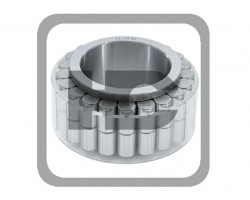 JCB Bearing Roller, Double Row
