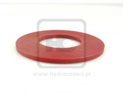 JCB Spacer Red, 50.75mm Bore x 5.5mm Thick