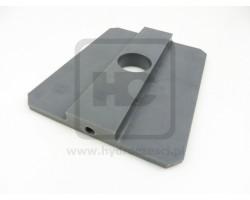 JCB Block wear, slider bottom powered sideshift