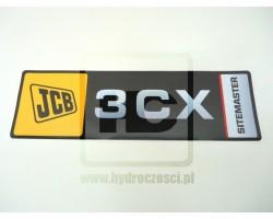 Naklejka JCB 3CX - pozioma