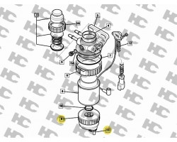 JCB Bowl Assembly SERVICE FILTERS