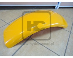JCB Fender front left ahnd yellow, 343mm wide