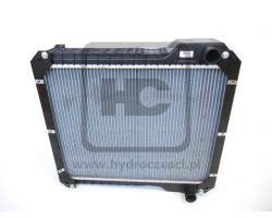 JCB Radiator assembly 5row 9.4fpi