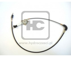 JCB Cable assembly, c/w lever throttle control