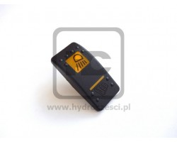 JCB Cover front work lights switch decal