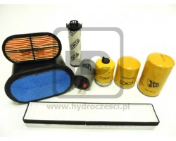 JCB DieselMax Tier 3 - Filters Set - 500 MTH - Genuine