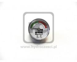 Wskaźnik ciśnienia przy filtrze hydraulicznym - ładowarka JCB ORYGINAŁ
